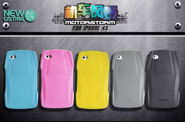 Фото TPU чехол Nillkin MotorStorm для Apple iPhone 4/4S (+ стилус) на itsell.ua