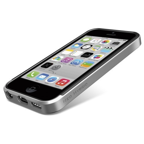 Чехол SGP Neo Hybrid Series для Apple iPhone 5C Серебряный / Satin Silver в магазине itsell.ua