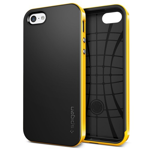 Фото Чехол SGP Neo Hybrid Series для Apple iPhone 5C Желтый / Reventon Yellow на itsell.ua