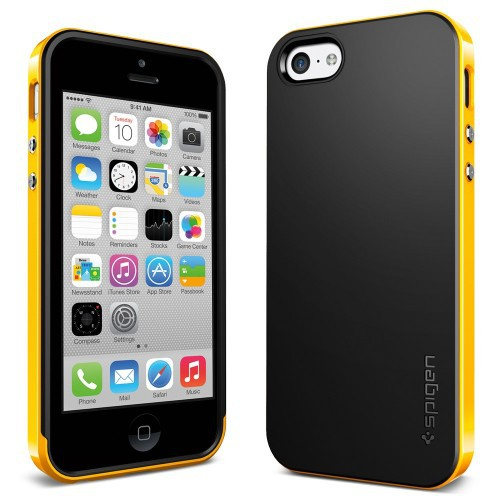 Фото Чехол SGP Neo Hybrid Series для Apple iPhone 5C Желтый / Reventon Yellow в магазине itsell.ua