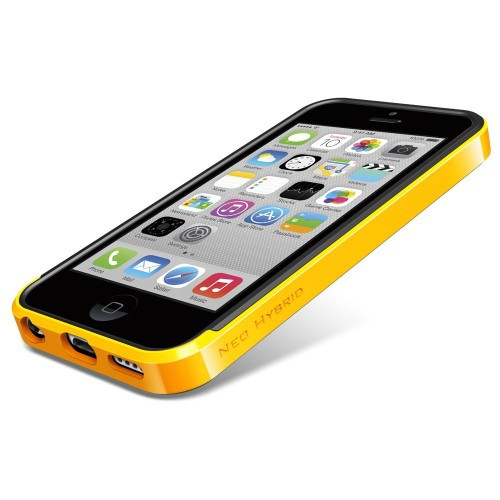 Чехол SGP Neo Hybrid Series для Apple iPhone 5C Желтый / Reventon Yellow в магазине itsell.ua