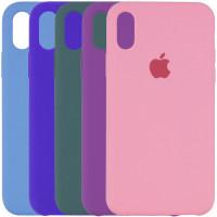 "Чехол Silicone Case (AA) для Apple iPhone X (5.8"") / XS (5.8"")"