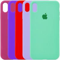 "Чехол Silicone Case Full Protective (AA) для Apple iPhone XS Max (6.5"")"