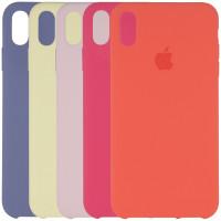 "Чехол Silicone case (AAA) для Apple iPhone XS Max (6.5"")"