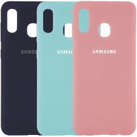 Чехол Silicone Cover (AA) для Samsung Galaxy A20 (A205F)