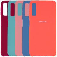 Чехол Silicone Cover (AA) для Samsung A750 Galaxy A7 (2018)