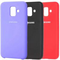 Чехол Silicone Cover (AA) для Samsung Galaxy A6 (2018)