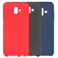 Чехол Silicone Cover (AA) для Samsung Galaxy J6+ (2018) (J610F)