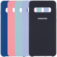 Чехол Silicone Cover (AA) для Samsung Galaxy S10
