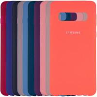 Купить Накладки, Чехол Silicone case для Samsung Galaxy S10+, Epik