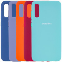 Чехол Silicone Cover Full Protective (AA) для Samsung Galaxy A30s