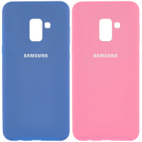 Чехол Silicone Cover Full Protective (AA) для Samsung A530 Galaxy A8 (2018)