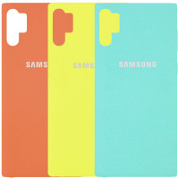 Чехол Silicone Case Full Protective для Samsung Galaxy Note 10 Plus