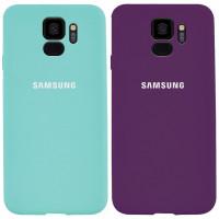 Чехол Silicone Cover Full Protective (AA) для Samsung Galaxy S9