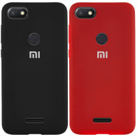Чехол Silicone Case Full Protective для Xiaomi Redmi 6