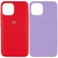 Чехол Silicone Cover Full Protective (AA) для Xiaomi Mi 11 Lite