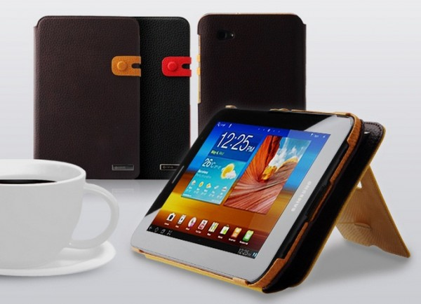 Фото Чехол Zenus Masstige Color Edge Diary для Samsung Galaxy Tab 7.0 Plus P6200/P3100 на itsell.ua
