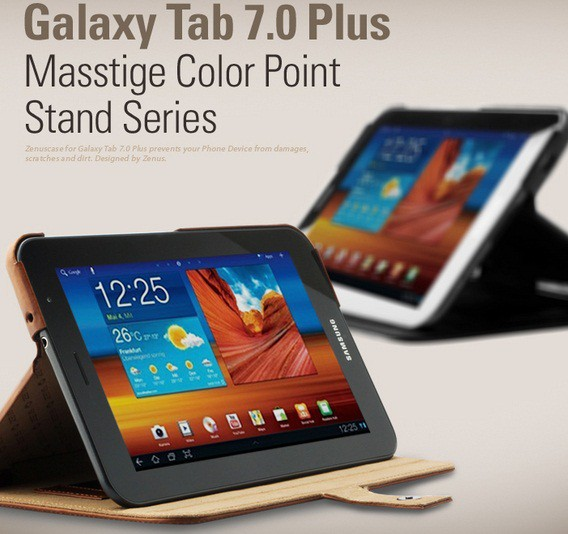 Фото Чехол Zenus Color Point Stand для Samsung Galaxy Tab 7.0 Plus (GT-P6200) на itsell.ua