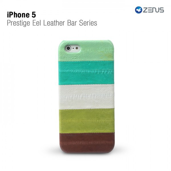 Купить Кожаная накладка Zenus Prestige Natural Eel Bar Series для Apple iPhone 5/5S за 249 грн