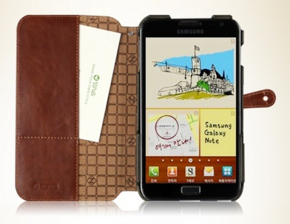 Чехол Zenus Color Block Folio для Samsung Galaxy Note N7000 на itsell.ua