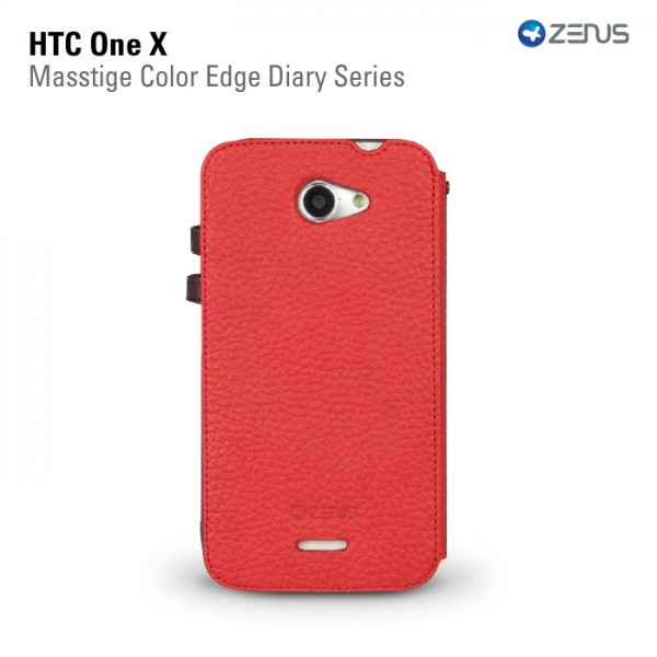Фото Кожаный чехол Zenus Masstige Color Edge для HTC One X на itsell.ua