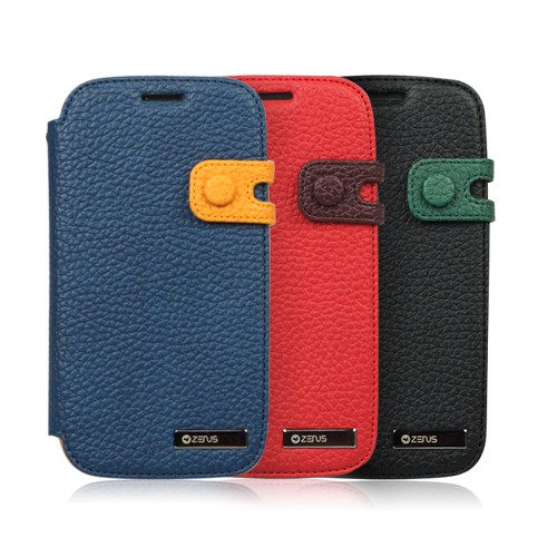 Купить Кожаный чехол Zenus Masstige color edge diary для Samsung i9300 Galaxy S3 за 299 грн