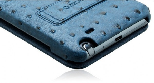 Чехол Zenus Masstige Ostrich Diary для Samsung N7000 Galaxy Note Морской на itsell.ua