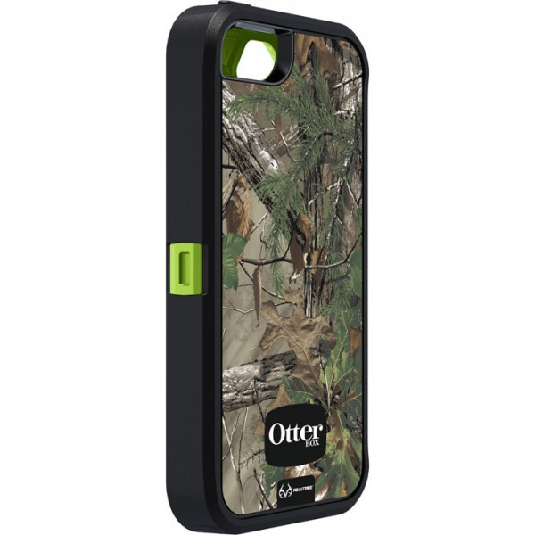 Фото Чехол OtterBox Defender Camo (high copy) для Apple iPhone 5/5S Осенняя ель / Xtra green в магазине itsell.ua