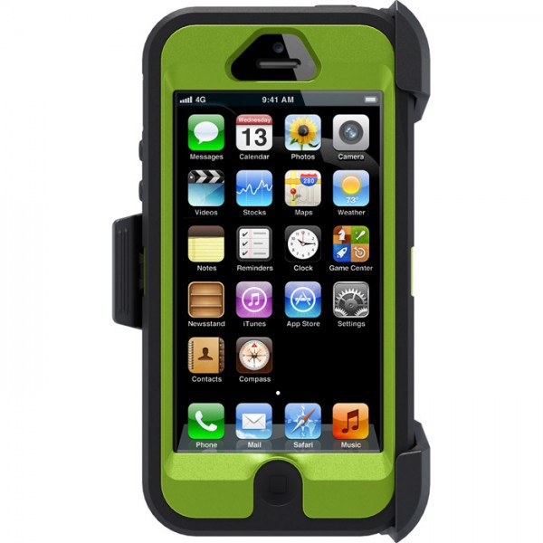 Чехол OtterBox Defender Camo (high copy) для Apple iPhone 5/5S Осенняя ель / Xtra green на itsell.ua