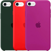 Чехол Silicone Case (AA) для Apple iPhone SE (2020)