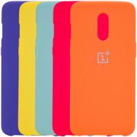 Чехол Silicone Cover (AA) для OnePlus 7