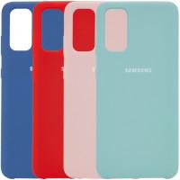 Чехол Silicone Cover (AA) для Samsung Galaxy S20