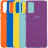 Чехол Silicone Cover (AA) для Samsung Galaxy S20+