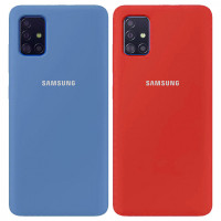 Чехол Silicone Cover Full Protective (AA) для Samsung Galaxy A51