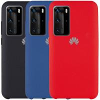 Чехол Silicone Cover (AAA) для Huawei P40 Pro