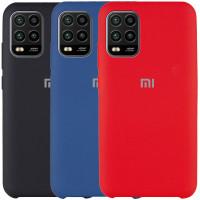 Чехол Silicone Cover (AAA) для Xiaomi Mi 10 Lite