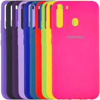 Чехол Silicone Cover Full Protective (A) для Samsung Galaxy A21