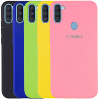 Чехол Silicone Cover Full Protective (A) для Samsung Galaxy M11
