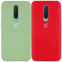 Чехол Silicone Cover Full Protective (AA) для OnePlus 8