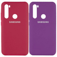 Чехол Silicone Cover Full Protective (AA) для Samsung Galaxy A21