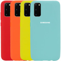 Чехол Silicone Cover Full Protective (AA) для Samsung Galaxy S20