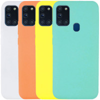 Чехол Silicone Cover Full without Logo (A) для Samsung Galaxy A21s