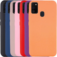 Чехол Silicone Cover Full without Logo (A) для Samsung Galaxy M30s / M21