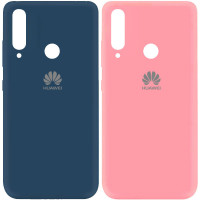 Чехол Silicone Cover My Color Full Protective (A) для Huawei Y7p (2020)
