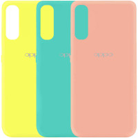 Чехол Silicone Cover My Color Full Protective (A) для Oppo Find X2