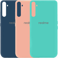Чехол Silicone Cover My Color Full Protective (A) для Realme 6