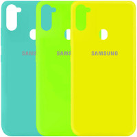 Чехол Silicone Cover My Color Full Protective (A) для Samsung Galaxy A11