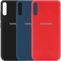 Чехол Silicone Cover My Color Full Protective (A) для Samsung Galaxy A70 (A705F)