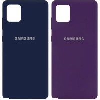 Чехол Silicone Cover My Color Full Protective (A) для Samsung Galaxy Note 10 Lite (A81)