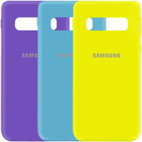 Чехол Silicone Cover My Color Full Protective (A) для Samsung Galaxy S10